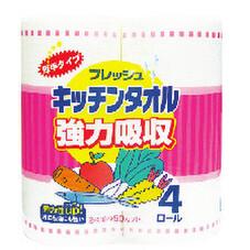 フレッシュキッチンタオル 138円(税抜)