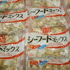 シーフードミックス 377円(税抜)