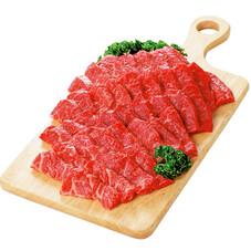 牛肉焼肉用(バラ肉) 198円(税抜)