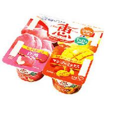 ナチュレ恵白桃+マンゴーミックス 105円(税抜)