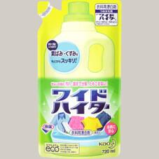 ワイドハイター(つめかえ用) 78円(税抜)
