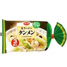 生ラーメン タンメン 168円(税抜)