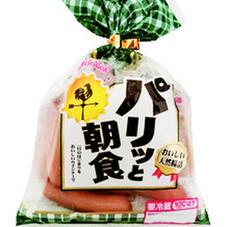 パリッと朝食ウインナー 198円(税抜)