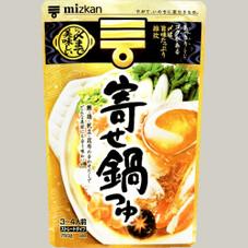 〆まで美味しい寄せ鍋つゆストレート 278円(税抜)