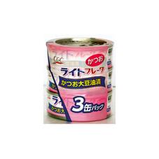 ライトフレークかつお 178円(税抜)