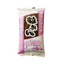 粒あん(甘さひかえめ) 257円(税抜)