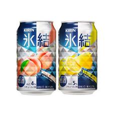 氷結各種 98円(税抜)