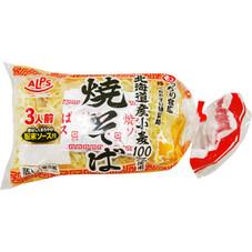 北海道産小麦100%使用アルプス焼そば 108円(税抜)