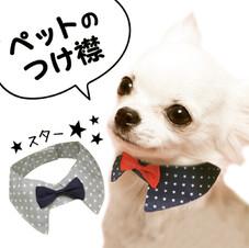 ペットのつけ襟 100円(税抜)