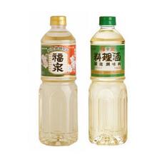 みりん風調味料・料理酒 157円(税抜)