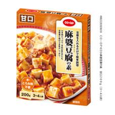 麻婆豆腐の素 甘口 92円(税抜)