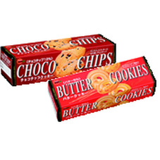 バタークッキー チョコチップクッキー 88円(税抜)