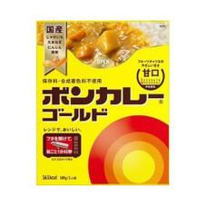ボンカレーゴールド 各 128円(税抜)