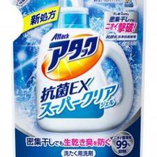 アタック抗菌EXSクリアジェル詰め替え 198円(税抜)