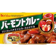 バーモントカレー中辛 198円(税抜)