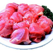 若鶏もも肉・鍋物 唐揚用(解凍含む) 98円(税抜)
