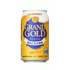 グランドゴールド 350ml×6缶パック 527円(税抜)