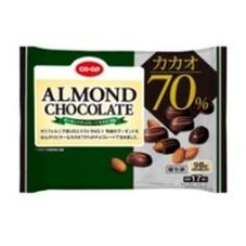 アーモンドチョコレートカカオ70% 258円(税抜)