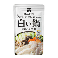 白い鍋 豆乳パイタン味 188円(税抜)