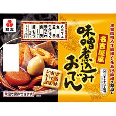 紀文 名古屋風味噌煮込みおでん 298円(税抜)