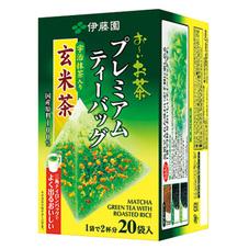伊藤園 プレミアムティーバッグ 宇治抹茶入り玄米茶 298円(税抜)