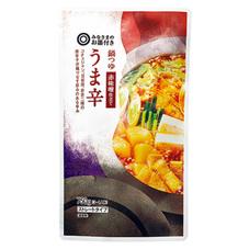 みなさまのお墨付き 鍋つゆ赤味噌仕立てうま辛 195円(税抜)