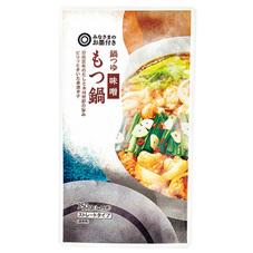 みなさまのお墨付き 鍋つゆ味噌もつ鍋 195円(税抜)