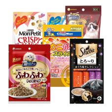 ねこちゃんのおやつ各種 157円(税抜)