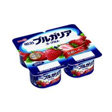 ブルガリアヨーグルト・芳醇いちご 128円(税抜)