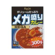 メガ盛りカレー 3個で 268円(税抜)