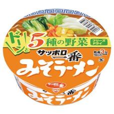 サッポロ一番 みそラーメンどんぶり 108円(税抜)