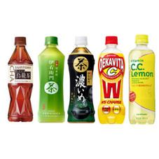 500ml飲料 各種 77円(税抜)