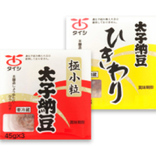 極小粒・ひきわり納豆 58円(税抜)