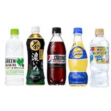 500ml飲料各種 77円(税抜)