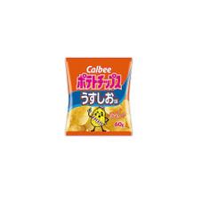 ポテトチップスうすしお 68円(税抜)