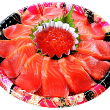 サーモンの親子丼セット生食用 500円(税抜)
