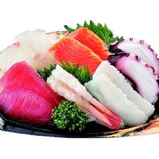 いろいろ食べたい刺身盛合せ(6点盛) 500円(税抜)
