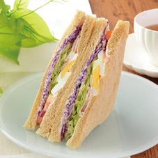 彩り野菜のシーザーサラダサンド 298円