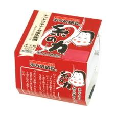 糸の力納豆ミニ 78円