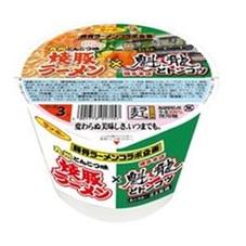 焼豚ラーメン×魁龍どトンコツ 165円(税抜)