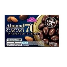 アーモンドチョコレートビターカカオ70% 198円(税抜)