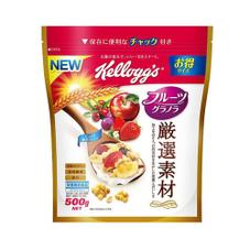 フルーツグラノラ 厳選素材 497円(税抜)