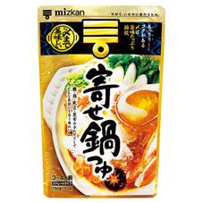 ミツカン 〆まで美味しい寄せ鍋つゆ 248円(税抜)