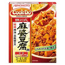 味の素 クックドゥ 四川式麻婆豆腐用 128円(税抜)