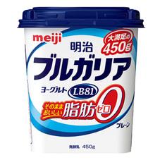 明治 ブルガリアヨーグルトLB81 そのままおいしい脂肪0プレーン 138円(税抜)