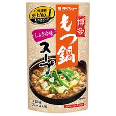 ダイショー もつ鍋しょうゆ味 248円(税抜)