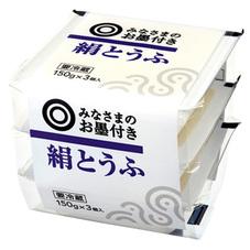 みなさまのお墨付き 絹とうふ 74円(税抜)