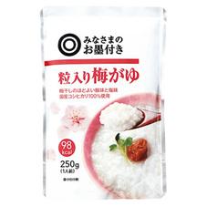 みなさまのお墨付き 粒入り梅がゆ 85円(税抜)