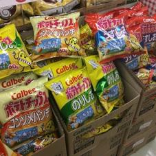 ポテトチップス(うすしお.コンソメパンチ.のりしお) 68円(税抜)