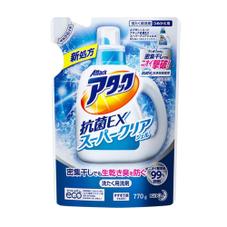 アタック抗菌EXスーパークリアジェル詰替 157円(税抜)
